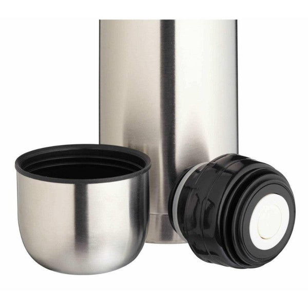 FLASK1LTRPRO Kitchencraft Stainless Steel 1 Litre Vacuum Flask - Cap And Lid