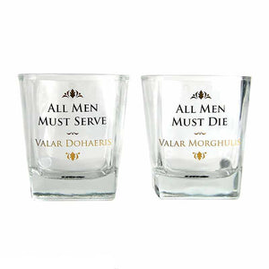Game of Thrones All Men Tumbler Glasses - Set of 2