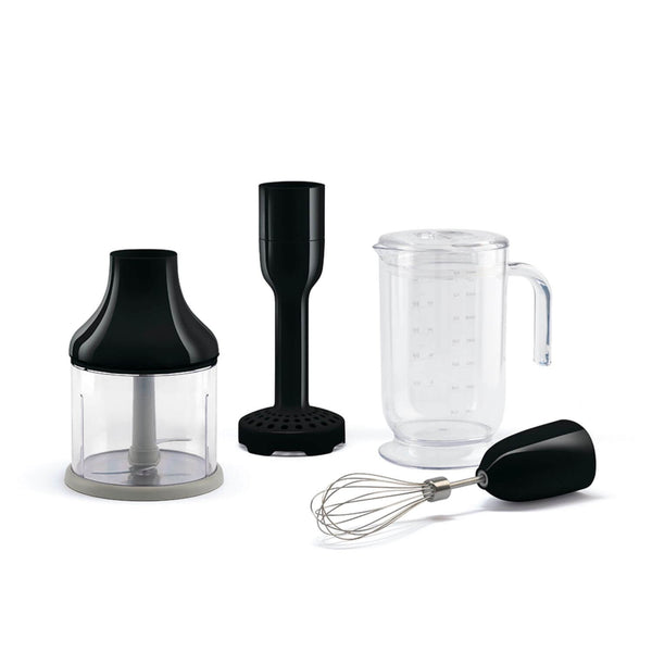 Smeg HBF02BLUK Hand Blender Set - Black