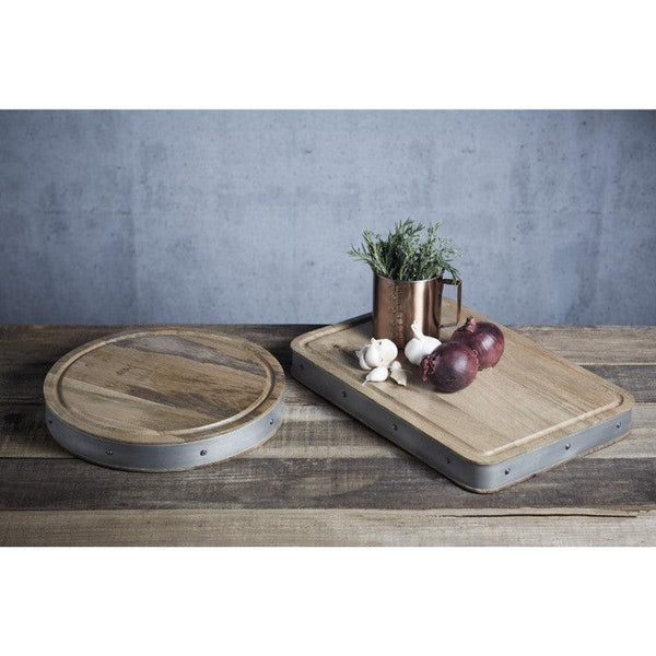 Industrial Kitchen Wooden Rectangular Chopping Board