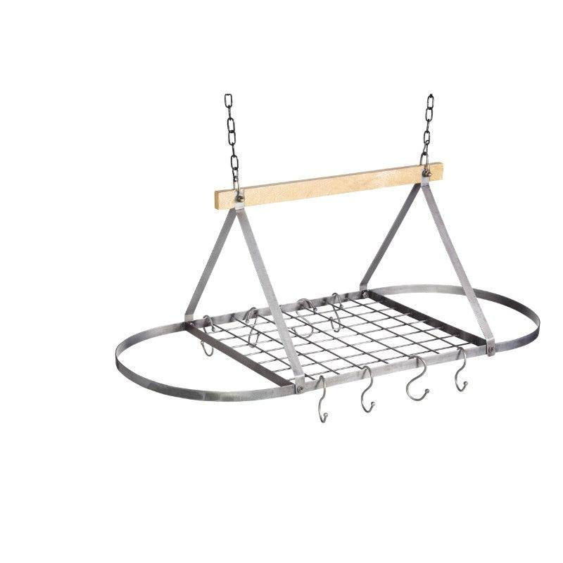 Industrial Kitchen Ceiling Hanging Rack