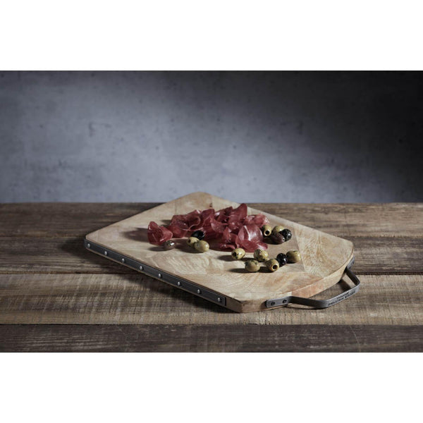 Industrial Kitchen Reversible Serving Board - Mango Wood