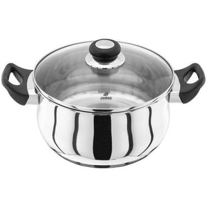 Judge Vista 24cm Stainless Steel Casserole Pot With Lid