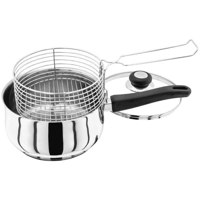 Judge Vista 20cm Stainless Steel Chip Pan & Basket