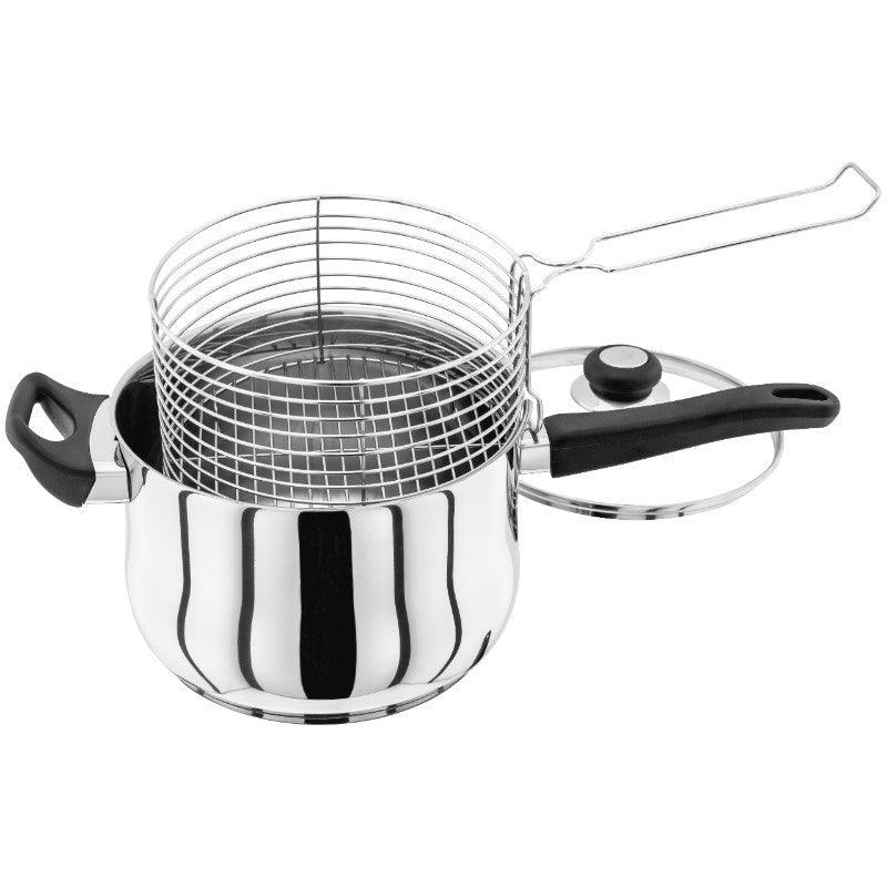 Judge Vista 22cm Stainless Steel Chip Pan & Basket