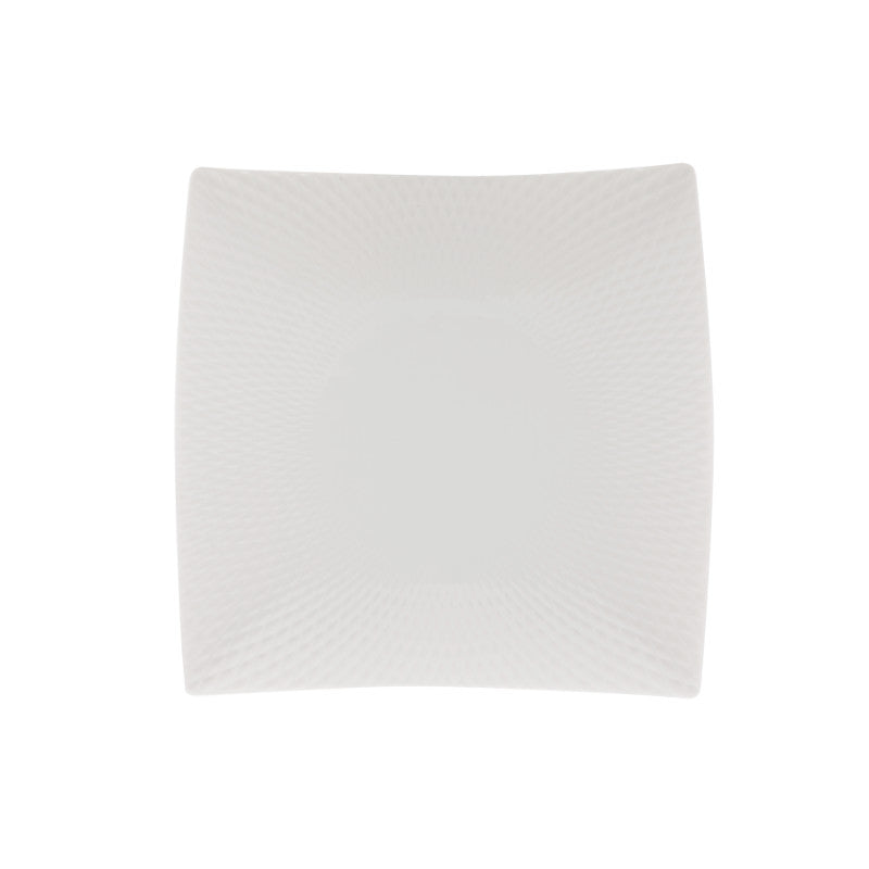Maxwell & Williams White Basics Diamonds 12.5cm Square Plate