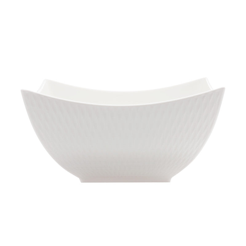 Maxwell & Williams White Basics Diamonds 24cm Square Bowl