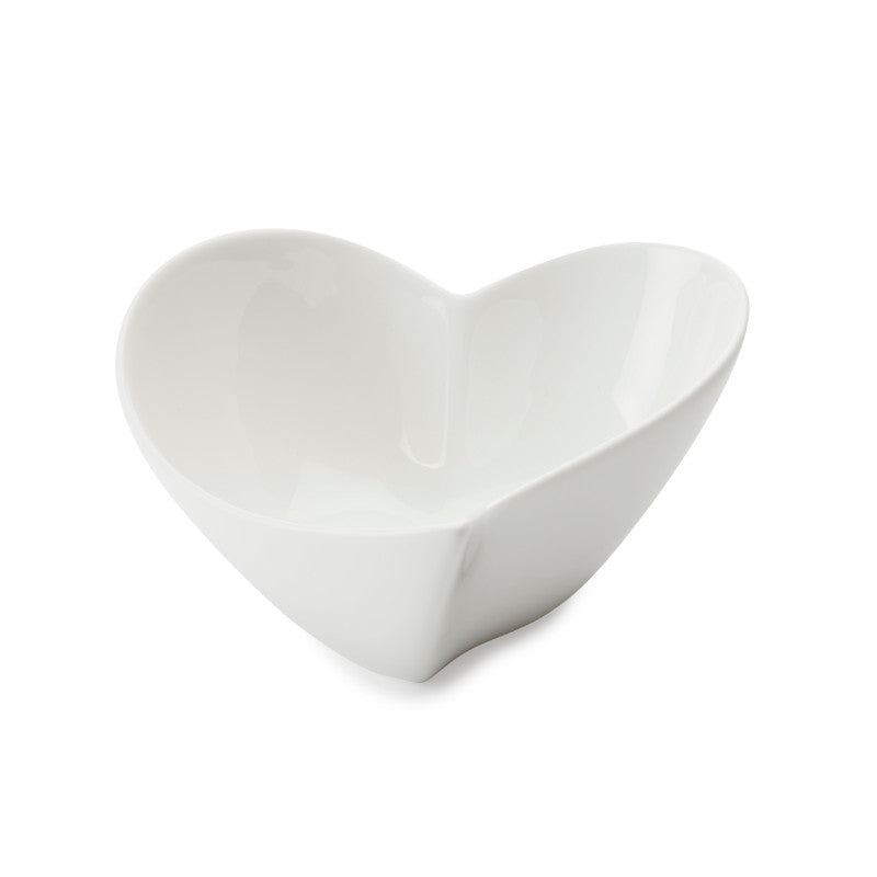 Maxwell & Williams White Basics 14cm Heart Bowl