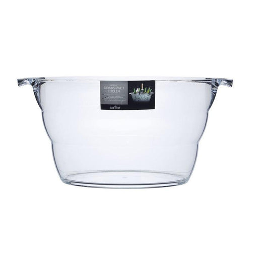 Barcraft Acrylic Drinks Pail Oval Ice Bucket Cooler