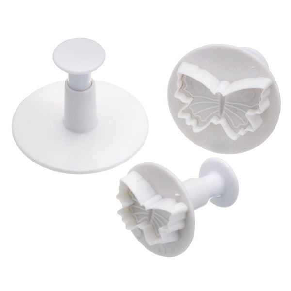 Sweetly Does It Butterfly Fondant Plunger Cutters - Set of 3