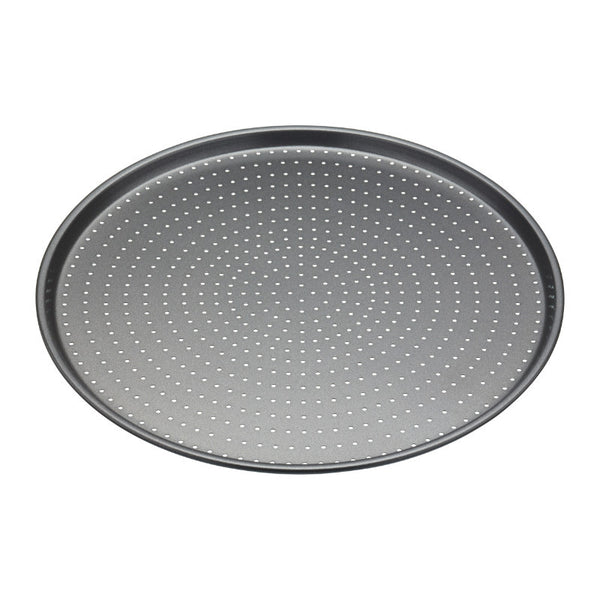 Masterclass Crusty Bake Round Non-Stick Pizza Tray - 32cm