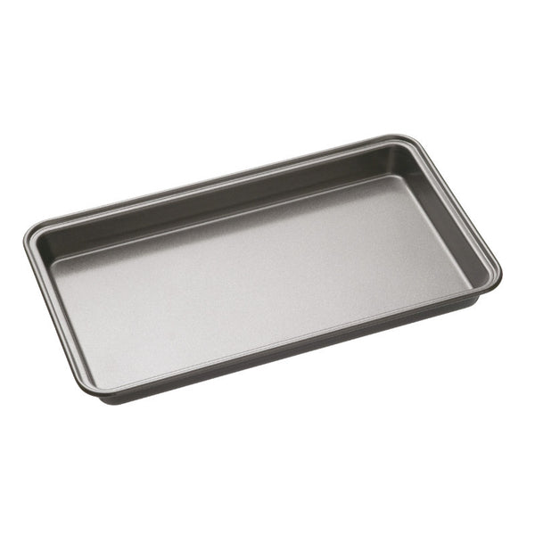 Masterclass Non-Stick Rectangle Brownie Tin - 34cm