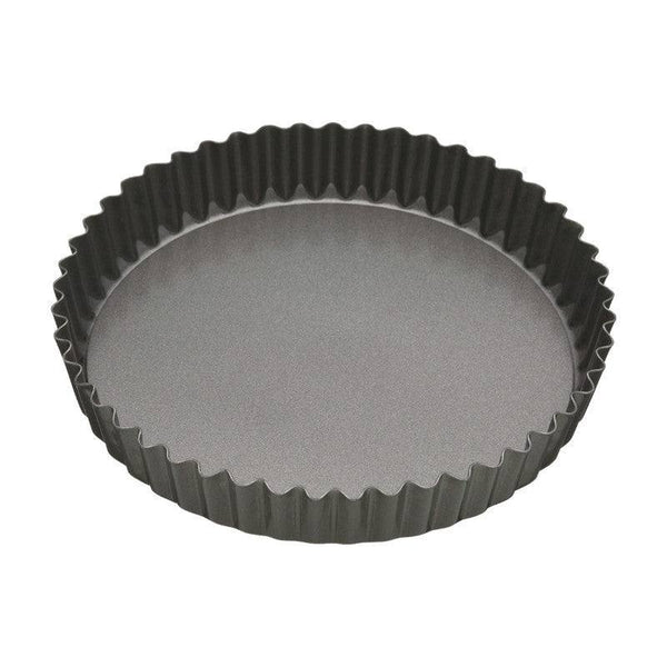 Masterclass Loose Base Fluted Quiche Tin - 25cm