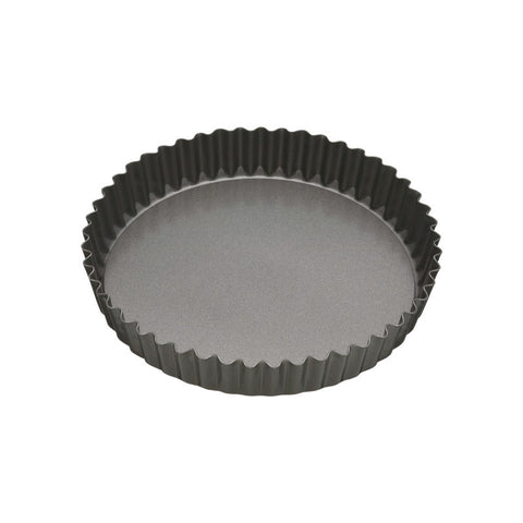 Masterclass 20cm Non-Stick Fluted Loose Base Flan Tin