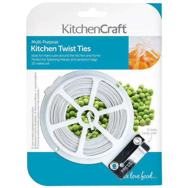 KitchenCraft Multi-Purpose Twist Ties - 30 Metre