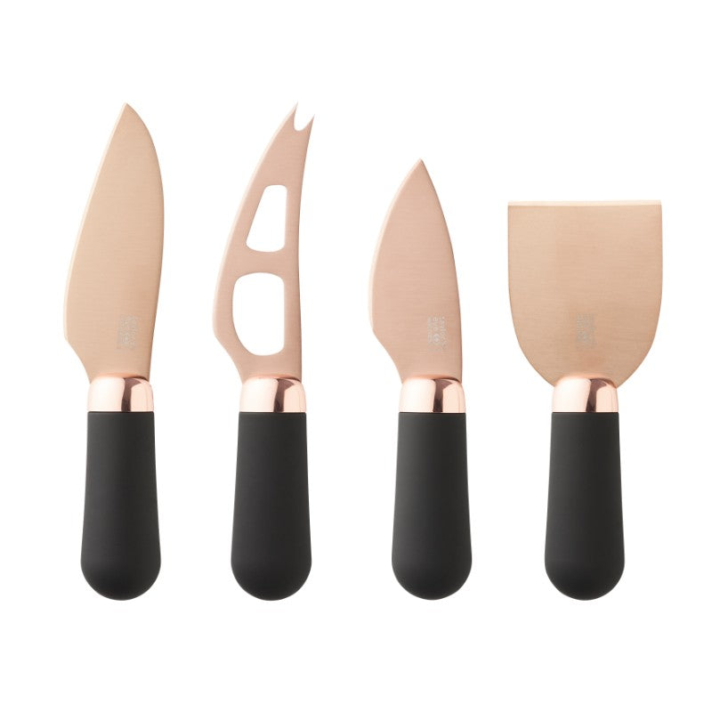 Taylor's Eye Witness Brooklyn Cheese Knife Set - Rose Gold