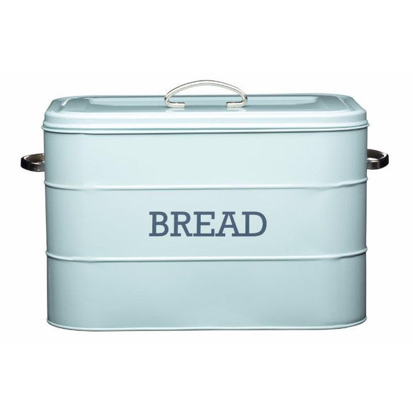 Living Nostalgia Bread Bin - Blue