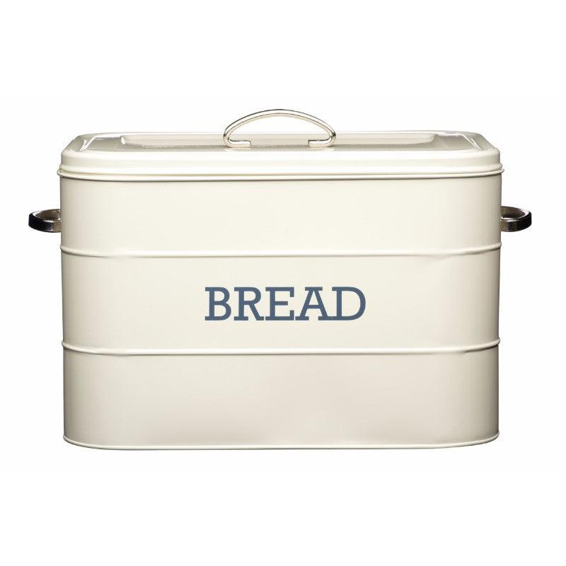 Kitchencraft Living Nostalgia Cream Bread Bin