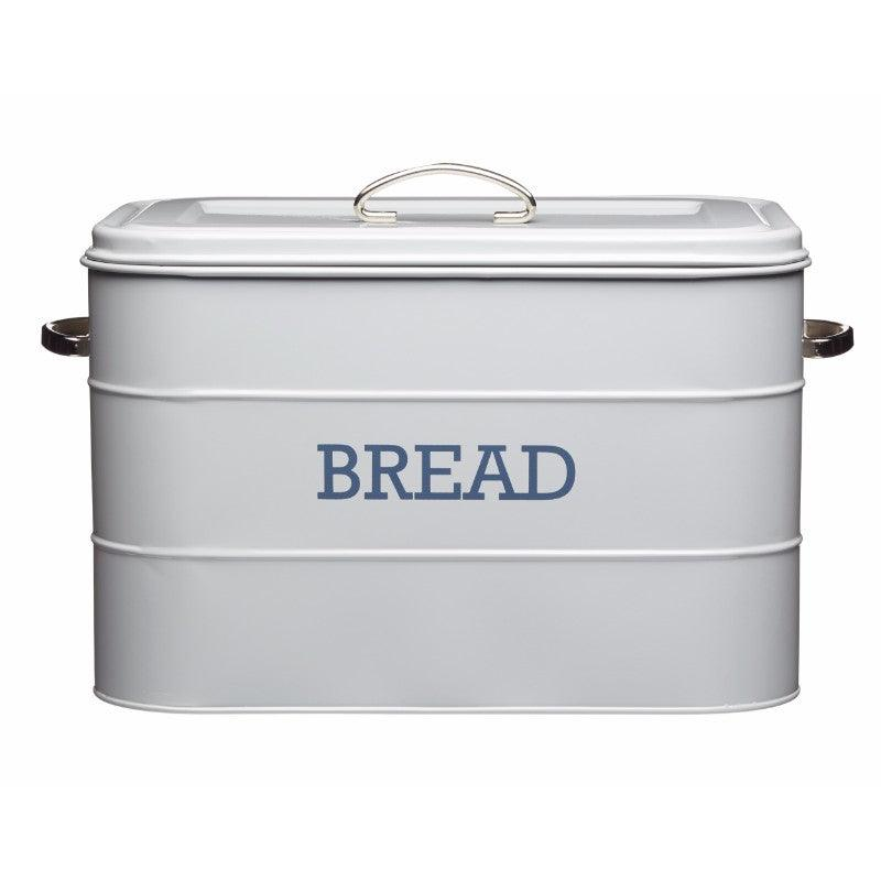 Kitchencraft Living Nostalgia Grey Bread Bin