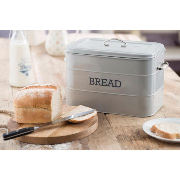 Living Nostalgia Bread Bin - Grey