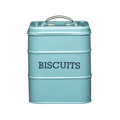 Kitchencraft Living Nostalgia Biscuit Tin Blue