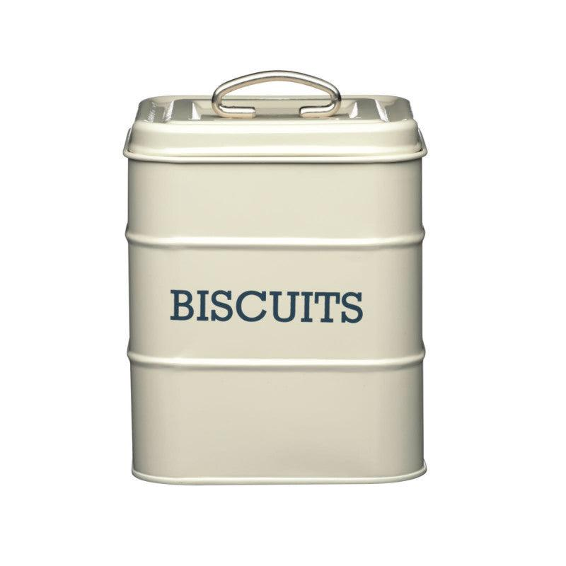 Kitchencraft Living Nostalgia Biscuit Tin Cream