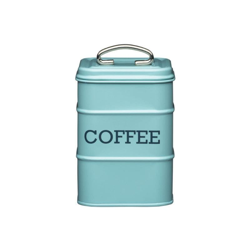 Living Nostalgia Coffee Tin - Blue