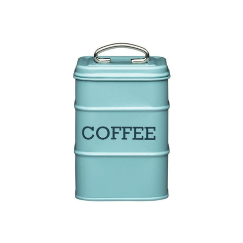 Kitchencraft Living Nostalgia Coffee Tin Blue