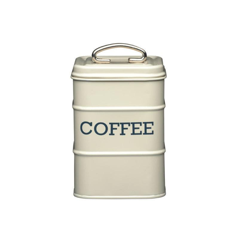 Living Nostalgia Coffee Tin - Cream
