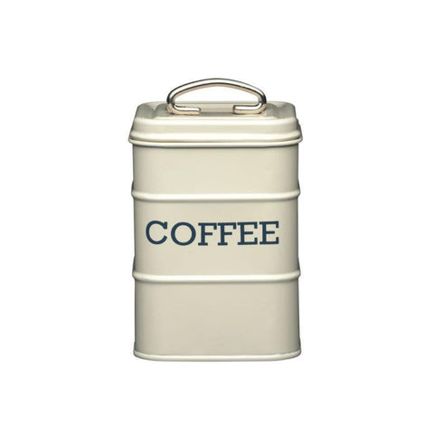 Kitchencraft Living Nostalgia Coffee Tin Cream