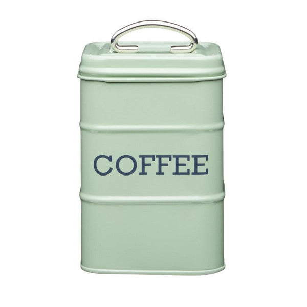 Living Nostalgia Coffee Canister - Sage Green