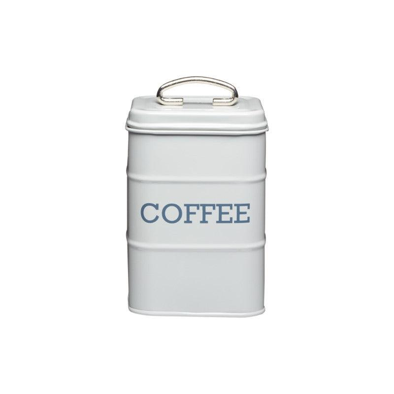Kitchencraft Living Nostalgia Coffee Tin Grey