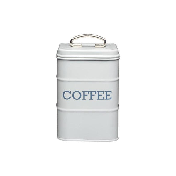 Living Nostalgia Coffee Tin - Grey