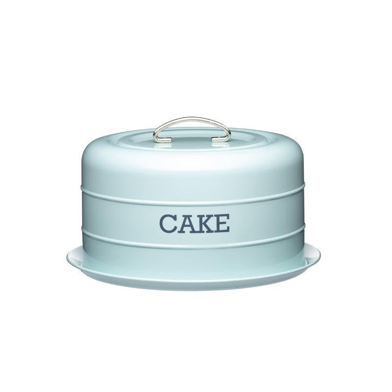 Kitchencraft Living Nostalgia Blue Cake Storage Tin