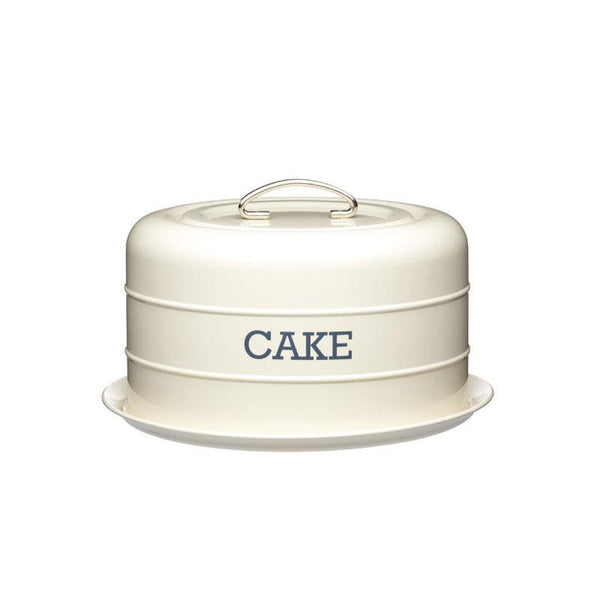 Living Nostalgia Cake Storage Tin - Cream