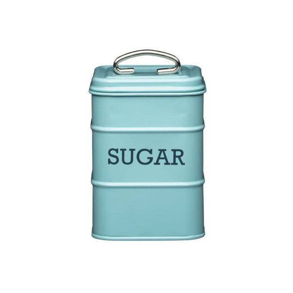 Living Nostalgia Sugar Tin - Blue