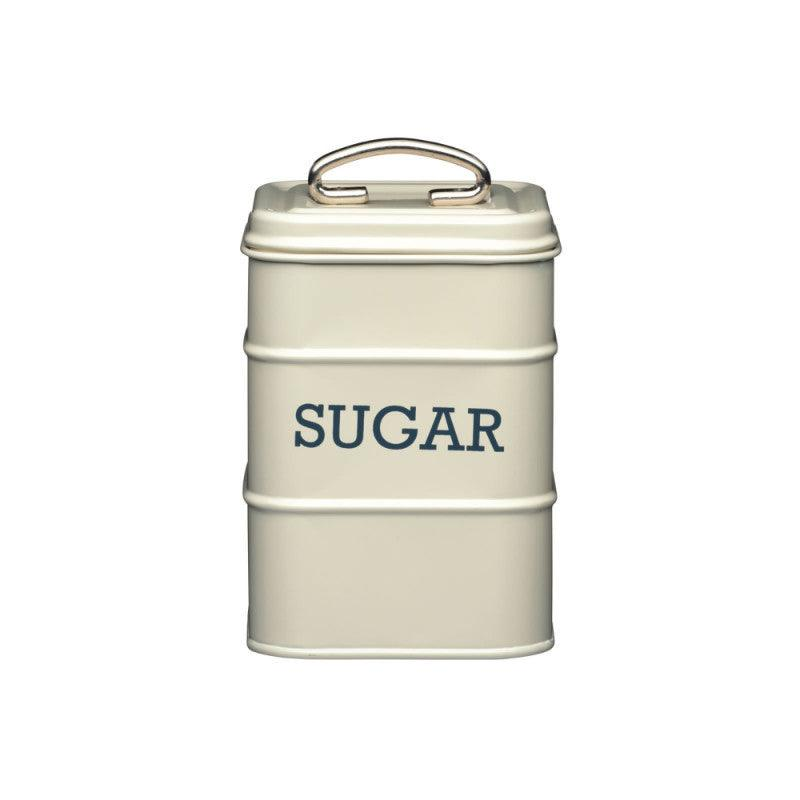 Living Nostalgia Sugar Tin - Cream