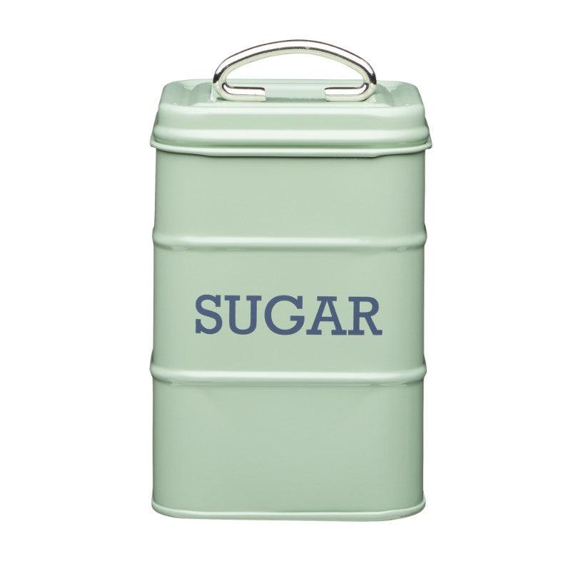 Living Nostalgia Sugar Tin - Sage Green