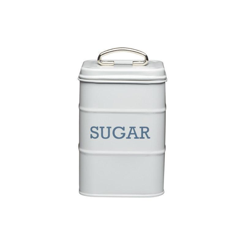 Kitchencraft Living Nostalgia Sugar Tin Grey
