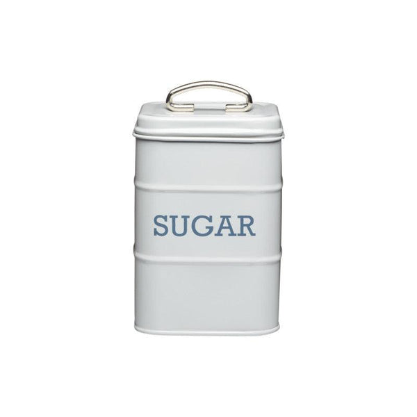 Living Nostalgia Sugar Tin - Grey