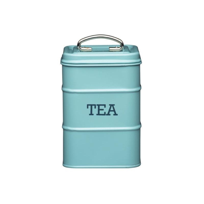 Kitchencraft Living Nostalgia Tea Tin Blue