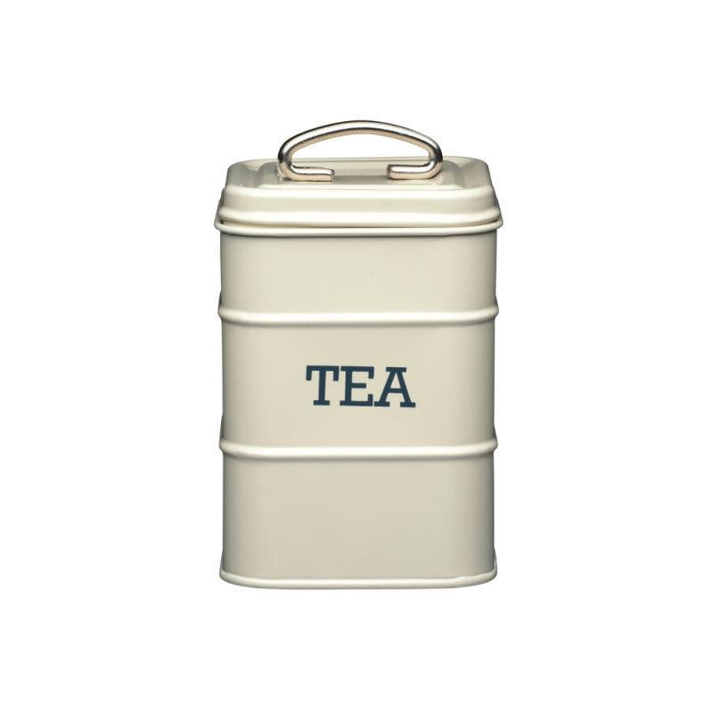 Kitchencraft Living Nostalgia Tea Tin Cream