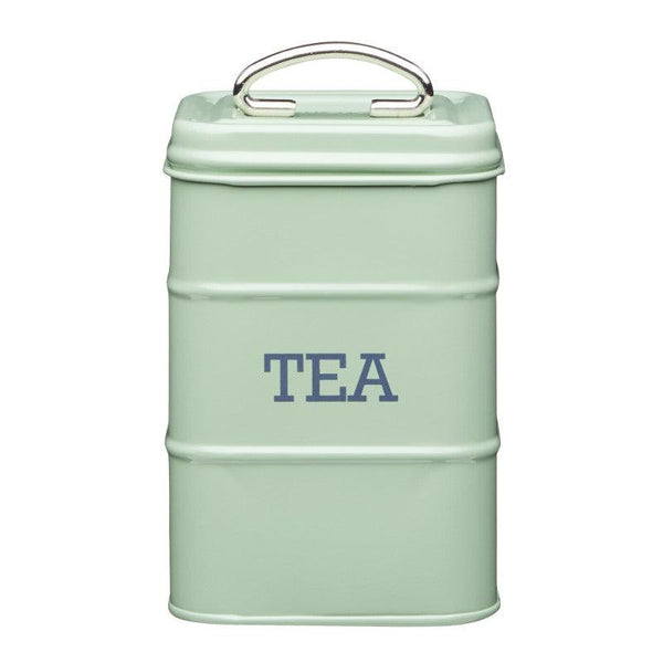 Living Nostalgia Tea Canister - Sage Green