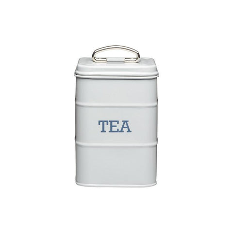 Kitchencraft Living Nostalgia Tea Tin Grey
