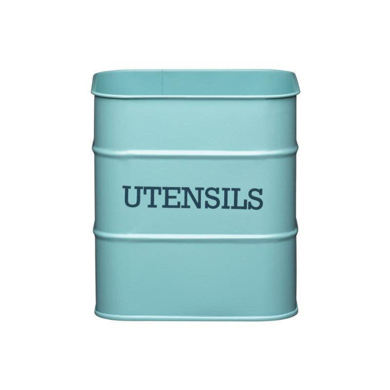 Living Nostalgia Utensil Pot - Blue