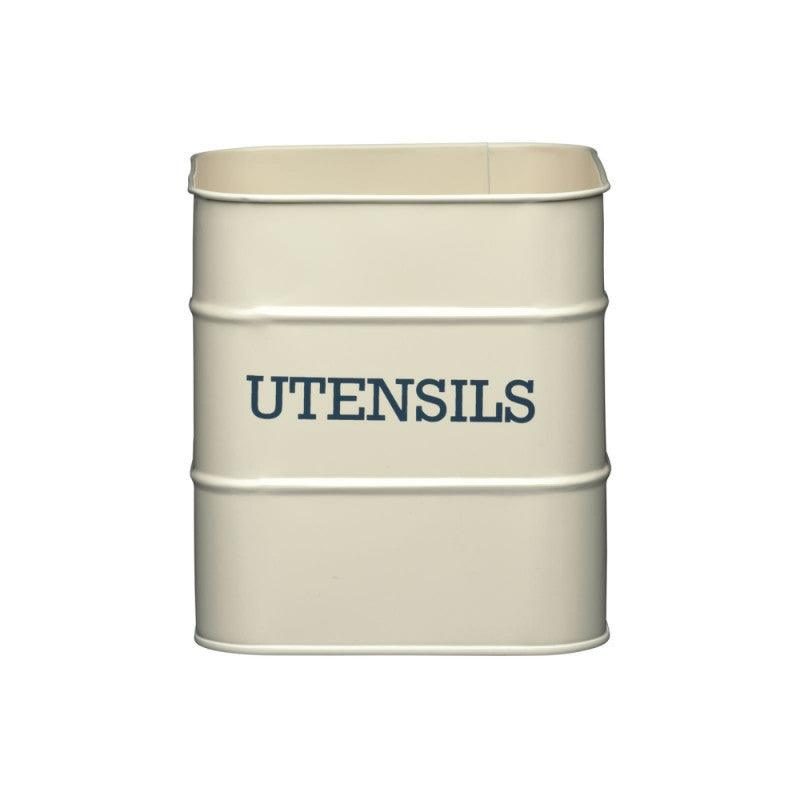 Living Nostalgia Utensil Pot - Cream