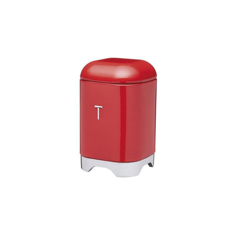 Kitchencraft Lovello Scarlet Tea Tin