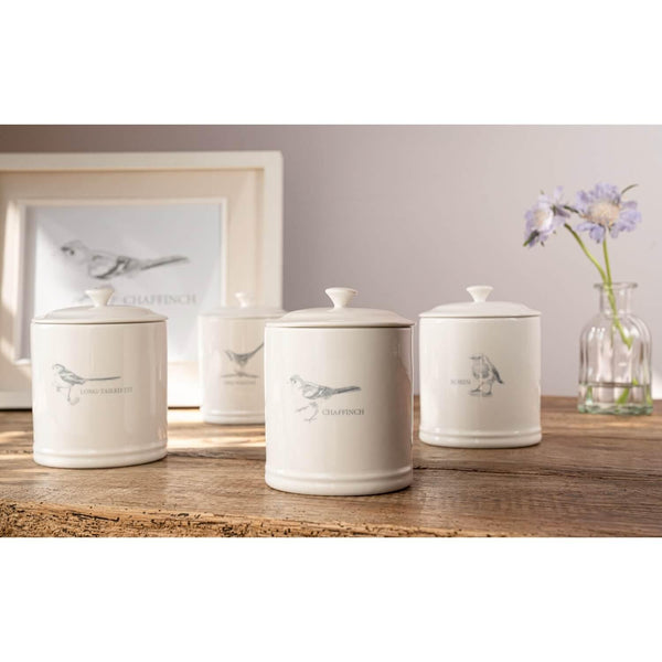 Mary Berry English Garden Storage Canister - Chaffinch