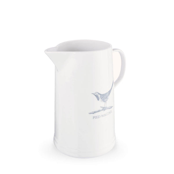Mary Berry English Garden Large Jug - Pied Wagtail