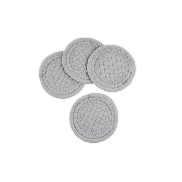 Mary Berry Signature Grey Cotton Coasters - Set of 4